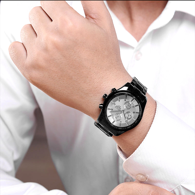 BOSCK Top Luxury Brand Watch Män Casual Brand Klockor Man Quartz - Herrklockor - Foto 5