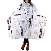 Styling Tool Beauty Hair Salon Cutting Barber Hairdressing Cape for Hairdresser Make Up 100cm x 140cm(China)