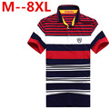 9XL 8XL 6XL 2016 Rushed Fashion Polo Homme High Quality Brand Men Polo Shirt New Summer Striped Cotton Men's Solid Ralp Camisa