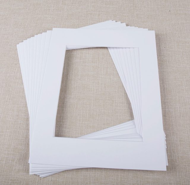 Online Shop 12pcs pack 11x14 inch Solid Color Pre-cut Opening ...