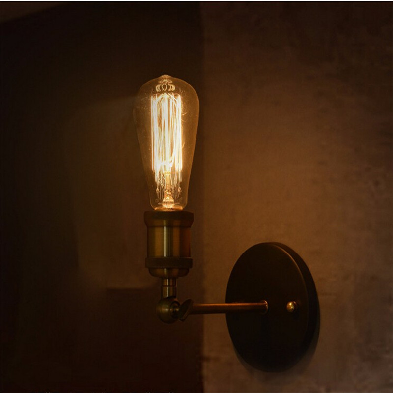 Retro Nordic 1 Lights Warehouse Wall Lamp Loft American