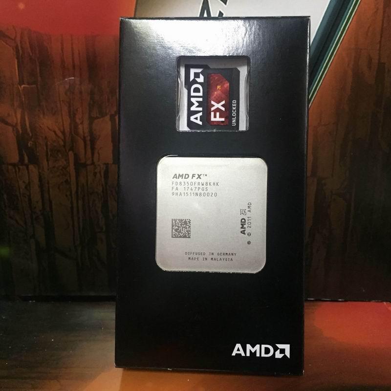 AMD FX8350 FX 8350 Eight Core CPU Processor 4 0G 8M 125W Socket AM3 CPU FX