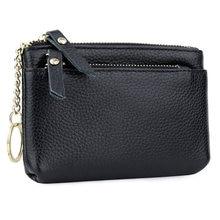 Женский кошелек carteira из 100% натуральной кожи с держателями