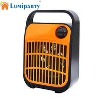 LumiParty Multifunctional LED Mosquito Killer Lamp Summer Fan Night Light Nonradiative Noiseless Electric Shock Grid Decoration