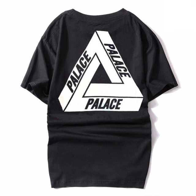50e7750b Men's T-Shirts Brand Crystal Palace Clothing Classic Triangle Sport White  Tee Short Sleeve Cotton Skateboards Streetwear Tshirt