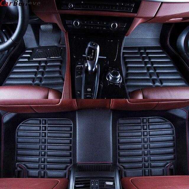 Car Believe car floor Foot mat For volvo v60 xc60 s60 xc70 xc90 v40 c30 c70 s80 accessories carpet rugs