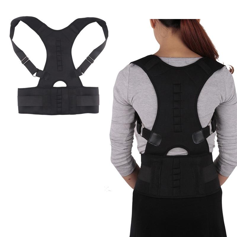 Adjustable Back Posture Correcion Belt Shoulder Rectify Support body Corrector pose Correcting Aiguillette for Men Women S-XXL
