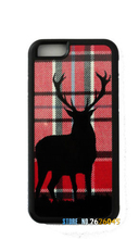 Stag Tartan design original cell phone case cover for iphone 4 4s 5 5s se 5c 6 6s 7 6 plus 6s plus 7 plus #yk1192