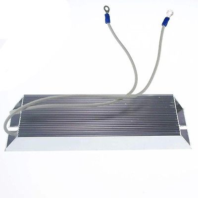 Power 100W 50 ohm Wire Wound Aluminum Housed Inverter Braking Resistor 100w 300 ohm 5% aluminum screw tabs resistor gold tone