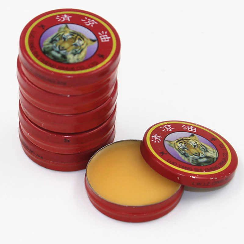 QingLiangYou pour maux de tête carmal soulagement des démangeaisons tigre huiles essentielles baume 3g WD3