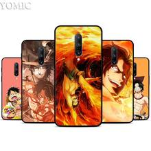 One Piece Monkey D Luffy Silicone Case for Oneplus 7 7Pro 5T 6 6T Black Soft Case for Oneplus 7 7 Pro TPU Phone Cover