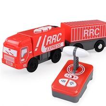 Чудесный Магнитный электрический пульт дистанционного управления поезд игрушечный автомобиль поезд пульт дистанционного управления поезд электрический пульт дистанционного управления поезд игрушечный автомобиль ребенок