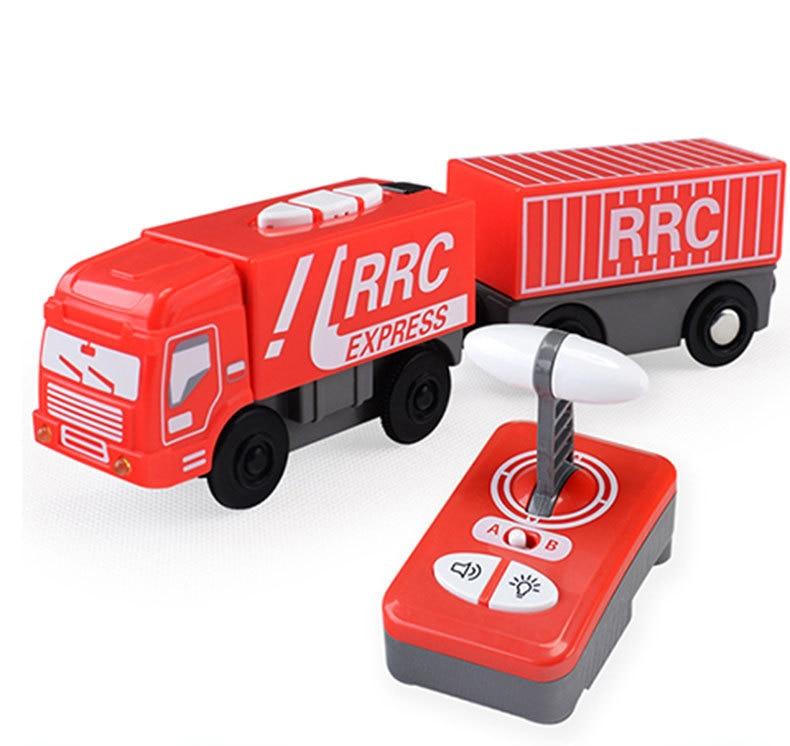 Wonderful Magnetic Electric Remote Control Train Toy Car  Child