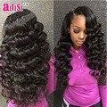 Sugar Virgin Hair Brazilian Virgin Hair With Closure Brazilian Deep Wave 3 Bundles With A Free Part Deep Wave Lace Closure Unice
