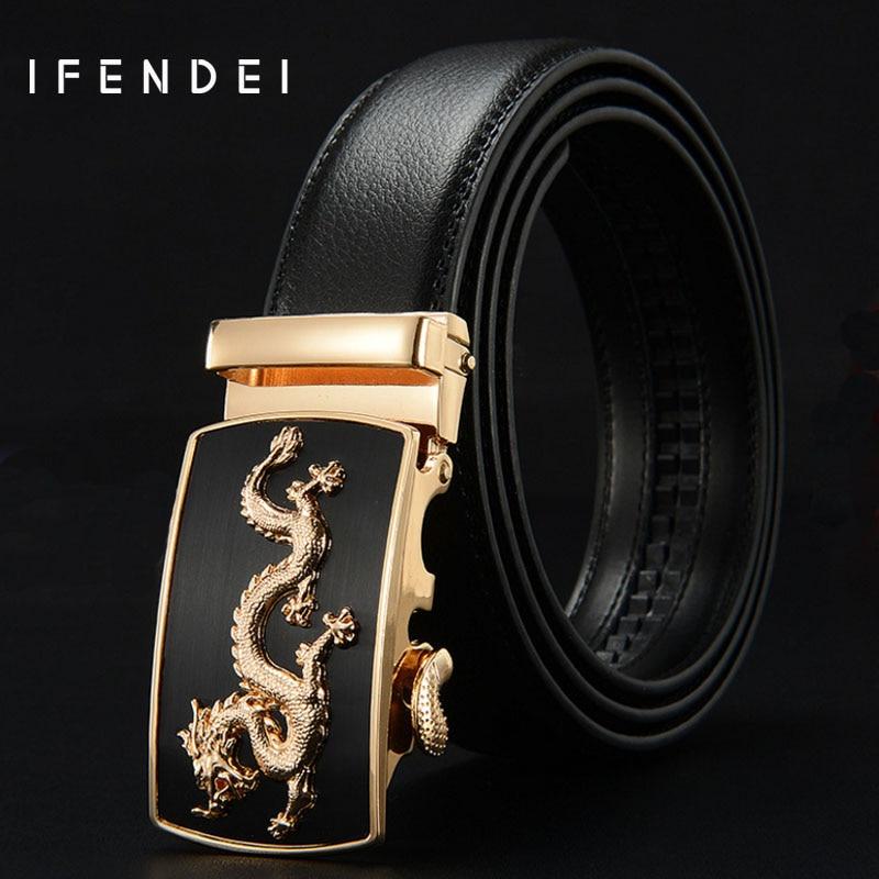best designer belts hakv  IFENDEI De Luxe Designer Ceintures Hommes de Haute Qualit茅 En Cuir  V茅ritable Hommes de Ceinture De