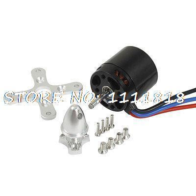 AX 2215C RC Hobbies 1000KV Helicopter Aircraft Brushless Motor w Adapter