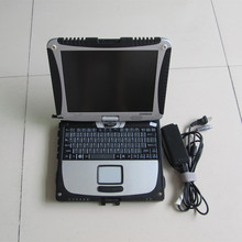 auto diagnostic laptop toughbook cf-19 cf19 4G ram & rotate touch screen second hand without hdd with battery