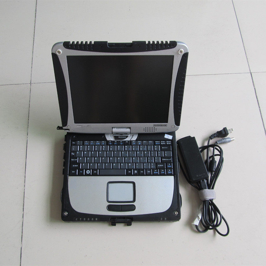 auto diagnostic laptop toughbook cf-19 cf19 4G ram & rotate touch screen second hand without hdd with battery  цены