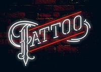 Comprar Tatuaje vidrio neón luz signo cerveza Bar por encargo