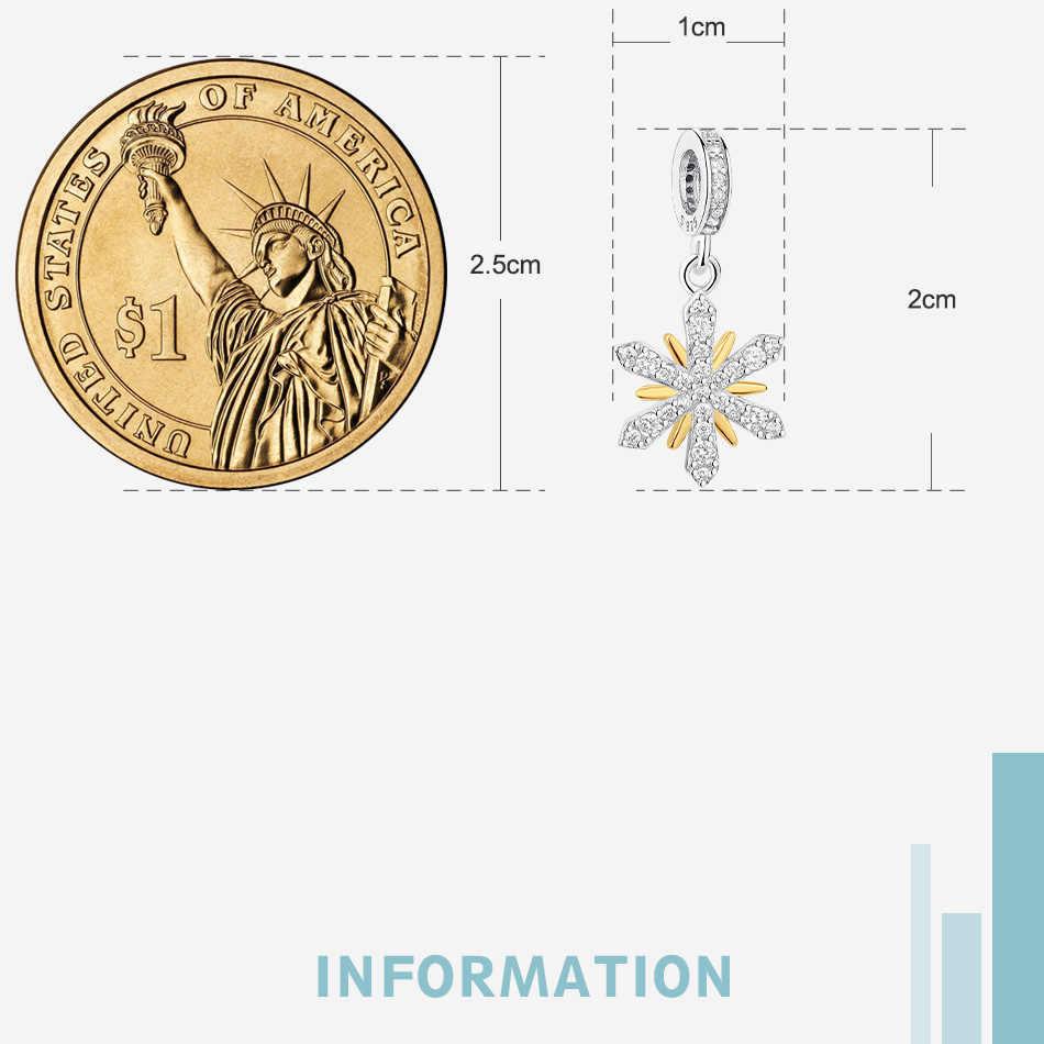 Real cuentas de plata esterlina 925 de miel de abeja colgante Árbol de la vida encanto Fit Original collar de la pulsera de Pandora DIY joyería