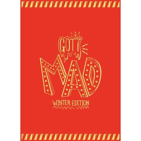 GOT7 MINI ALBUM REPACKAGE - MAD WINTER EDITION (HAPPY VER.)   Release Date 2015-11-24 exo 4th album repackage the war the power of music chinese ver korean ver 2 version set release date 2017 09 06