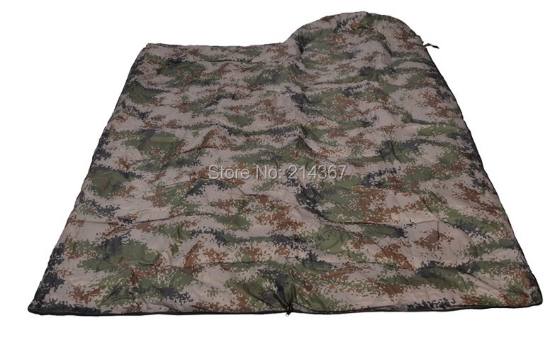 Wild Hunting Camouflage Spring Sleeping Bag Realtree Camo sleeping bag Camouflage Sleep Bag windproof realtree camouflage suits wild hunting clothing oem vision