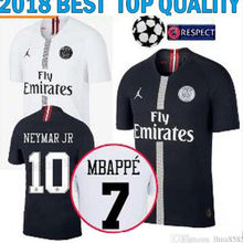 577d3b544 new 2018 2019 adult psg jersey NEYMAR JR MBAPPE PARIS soccer jersey 18 19  Paris shirt VERRATTI CAVANI MEN football t-shirt 2