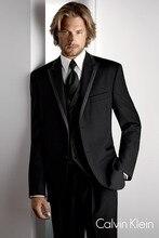 New Arrival Custom made Light Gray Tailcoat Men Suit Set Slim Wedding Suits  Mens gray Groom Tuxedos( jacket+Pants+vest+tie)