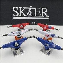 "Qualität Skateboard Teile Mitte Hohl Typ Lkw Skateboard 5,0 ""& 5.25J"" Verschiedene arten Skate Lkw Aluminium Lkw De skate"