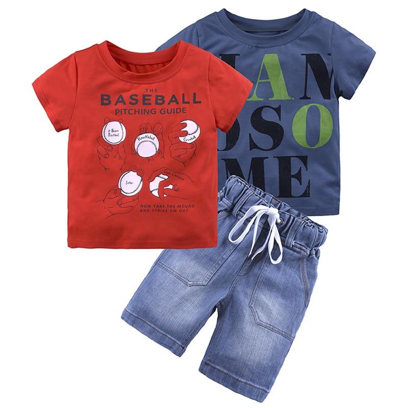 165f51029 Ropa para niños 2019 verano niño ropa deportiva traje ropa para niños  chándal para niños ...