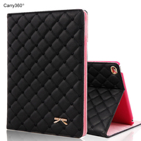 Case For IPad 2017 9 7 Inch Carry360 New Luxury Fashion Bowknot PU Leather Stand Smart