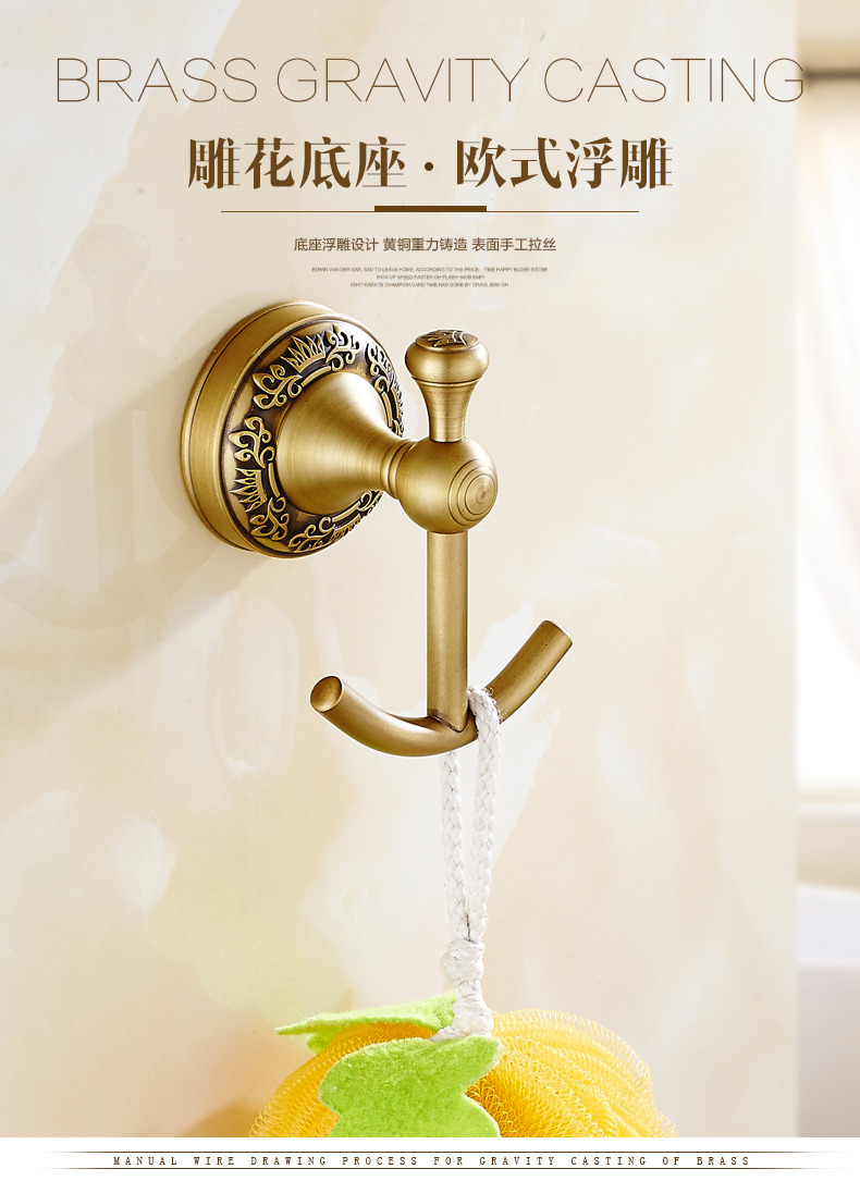 Archaistic Style Wall Antique Brass Toilet Paper Holder Paper Towel Dispenser US