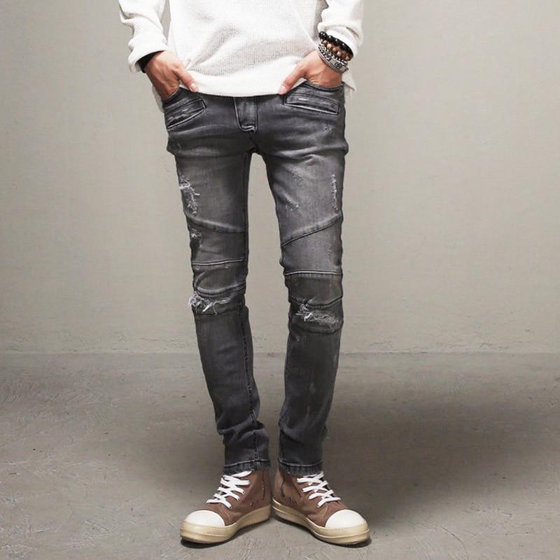 new fashion design hot brand mens hip hop slim fit skinny. Black Bedroom Furniture Sets. Home Design Ideas