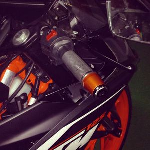 Image 3 - Motorcycle Handlebar Handle Bar Grips Ends For Yamaha YBR125 YBR 125 YZF600 YZF 600 R1 R3 R6 R125 R25 T MAX T MAX TMAX 530 500