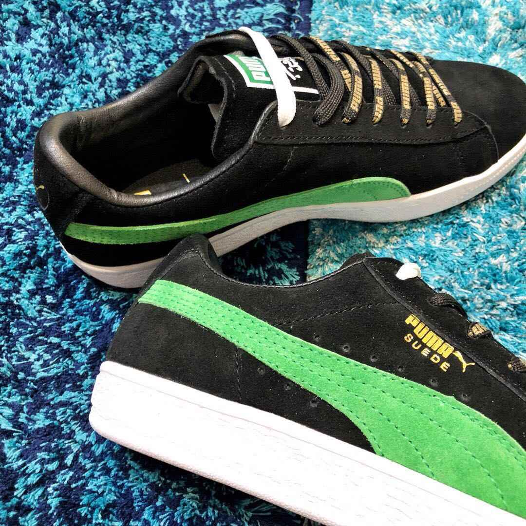newest cfe0f 33e21 New Arrival PUMA XLARGE x PUMA Suede Men's and Women's Breathable Sneaker  Badminton Shoes Size36-44