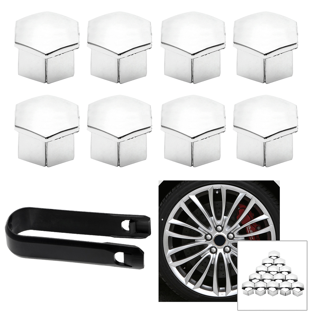 Auto Hub Screw Cover For Peugeot 207 301 307 308 408 508 3008 <font><b>Car</b></font> <font><b>Wheel</b></font> <font><b>Nut</b></font> <font><b>Caps</b></font> <font><b>Car</b></font> <font><b>Cap</b></font> Decor 16Pieces for Citroen C4l C5 C2 image