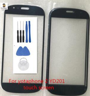 100% хорошие рабочие Переднее стекло для YotaPhone 2 YD201 сенсорный экран