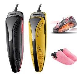 20 w ptc sapatos secador raios ultravioleta sapatos esterilização secador de pé protetor desodorante desumidificar dispositivo sapatos máquina de secagem