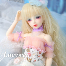 купить OUENEIFS fairyland FairyLine Lucywen 1/4 bjd sd dolls model reborn girls boys eyes High Quality toys makeup shop resin дешево