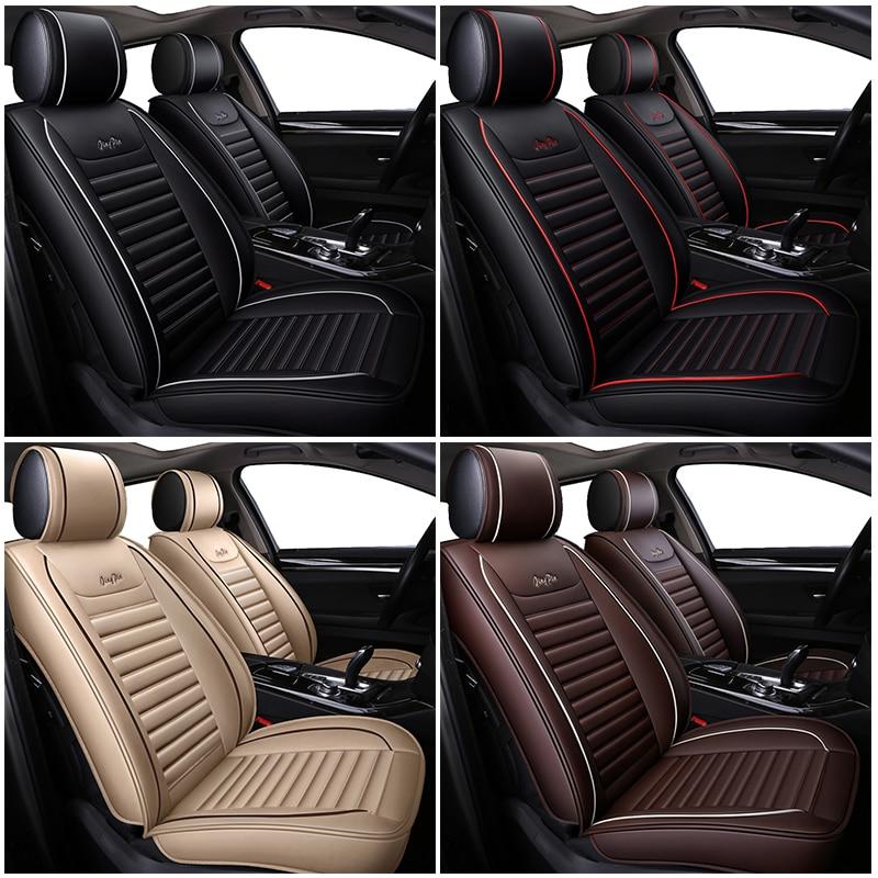 WLMWL универсальный кожаный чехол для автокресла для Mercedes Benz все модели w212 A180 B200 c200 c300 E класс GLA GLE S500 GLK CLA - 3