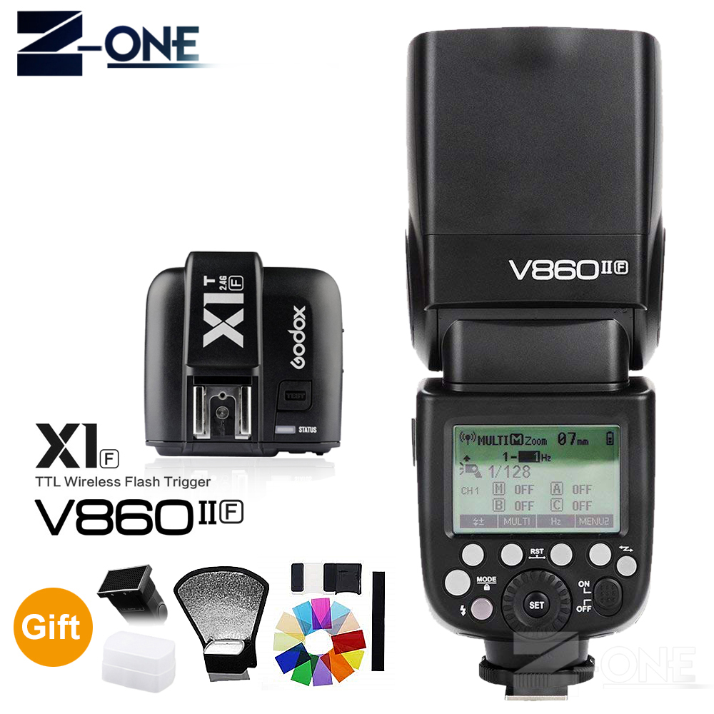 Godox V860II Speedlite TTL Flash 1.5S Recycle Time 650 Full Power Pops Supports TTL//M//Multi//S1//S2 HSS High Speed Sync GN60 2.4G Li-on Battery Camera Flash Light for Sony A6000 Flash etc