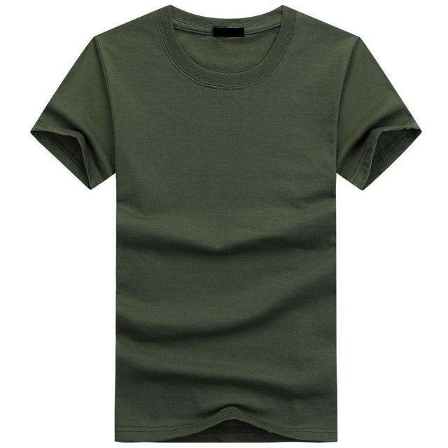 2019 High Quality Fashion Mens T Shirts Casual Short Sleeve T-shirt Mens Solid Casual Cotton Tee Shirt Summer Clothing 5XL TX112