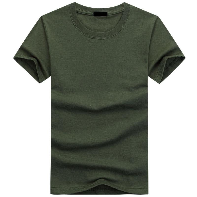 2019 High Quality Fashion Mens   T     Shirts   Casual Short Sleeve   T  -  shirt   Mens Solid Casual Cotton Tee   Shirt   Summer Clothing 5XL TX112