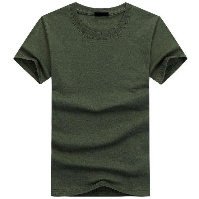 2019 Yüksek Kalite Moda Erkek T Shirt Rahat kısa kollu tişört Erkek Katı Rahat Pamuk Tee Gömlek Yaz Giyim 5XL TX112