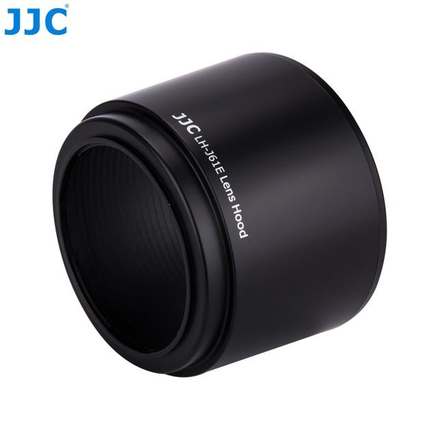 "JJC עדשת הוד 58 מ""מ עבור אולימפוס M. ZUIKO DIGITAL ED 75 300 מ""מ f/4.8 6.7 השני עדשה מחליף LH 61E"