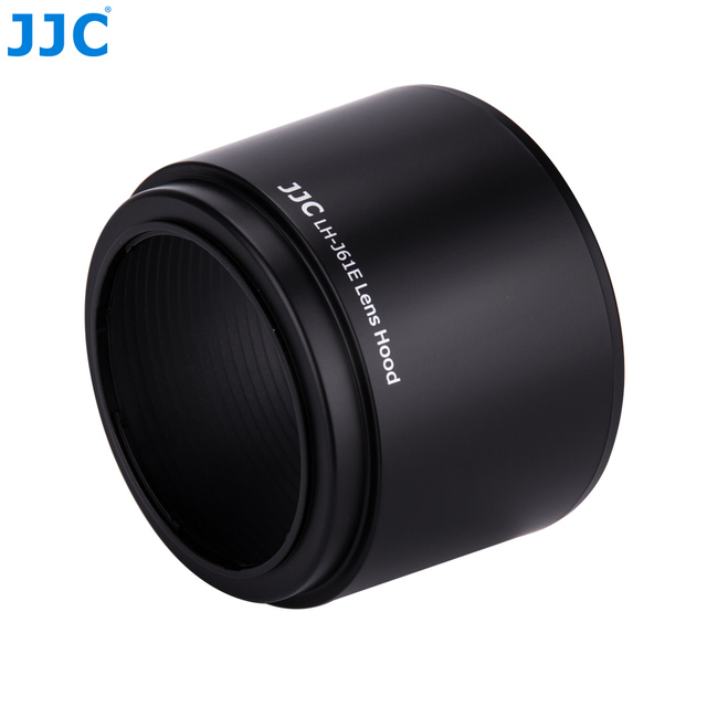 JJC parasol de objetivo 58mm para Olympus M.ZUIKO DIGITAL ED 75 300mm f/4,8 6,7 II lente sustituye a LH 61E