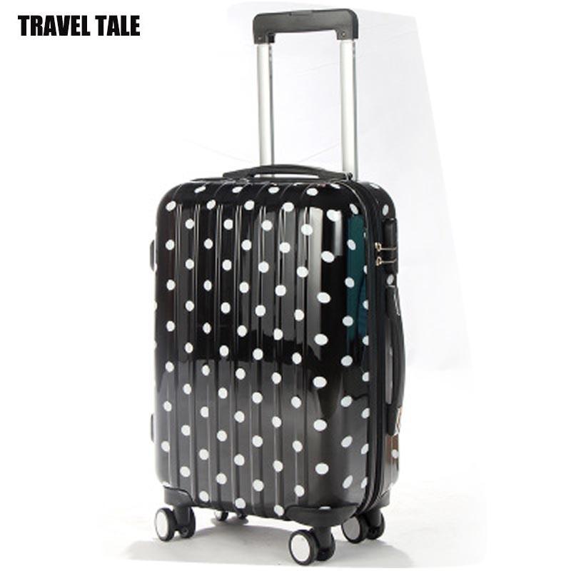 Popular Cute Polka Dot Luggage-Buy Cheap Cute Polka Dot Luggage ...