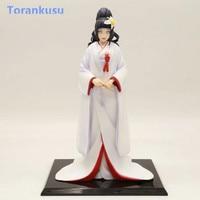 Anime Naruto Hyuuga Hinata Action Figure White Kimono Muku PVC Hot Toys Decoration Home Figma Doll Girl Kids Gift Model PG