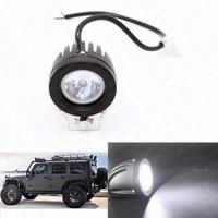10 W Led-oświetlenie robocze 12 V Samochodów Auto SUV ATV 4WD AWD 4X4 Offroad Jazdy Światła Przeciwmgielne Okrągłe Ciężarówka Motocykl Bike Reflektorów Worklig