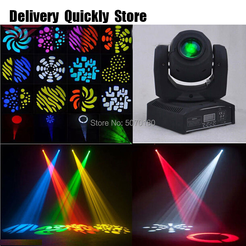 Fast Delivery 30W Led Gobo Moving Head Images Change Effect Light Good Use For Home Entertainment Party KTV Night Club Dance